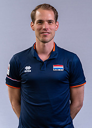 Fysiotherapeut Alewijn Huisman of Netherlands, Photoshoot selection of Orange men's volleybal team season 2021on may 11, 2021 in Arnhem, Netherlands (Photo by RHF Agency/Ronald Hoogendoorn)