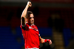 Michael Dawson of Nottingham Forest celebrates victory over Bolton Wanderers - Mandatory by-line: Robbie Stephenson/JMP - 24/10/2018 - FOOTBALL - University of Bolton Stadium - Bolton, England - Bolton Wanderers v Nottingham Forest - Sky Bet Championship