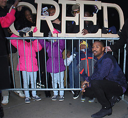 NEW YORK, NY - November 12: Michael B. Jordan at Good Morning America promoting Creed 2 in New York City on November 12, 2018. 12 Nov 2018 Pictured: Michael B. Jordan. Photo credit: RW/MPI/Capital Pictures / MEGA TheMegaAgency.com +1 888 505 6342