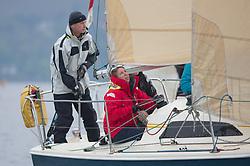 Pelle P Kip Regatta 2017 run by Royal Western Yacht Club at Kip Marina on the Clyde. <br /> <br /> GBR9518, Happy, Ian Macdonald, CCC, Impala<br /> <br /> Image Credit Marc Turner