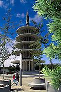 Japan Center Peace Pagoda, Japantown, San Francisco, California