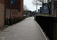 empty street  Eastleigh photo by Dawn Fletcher-Park