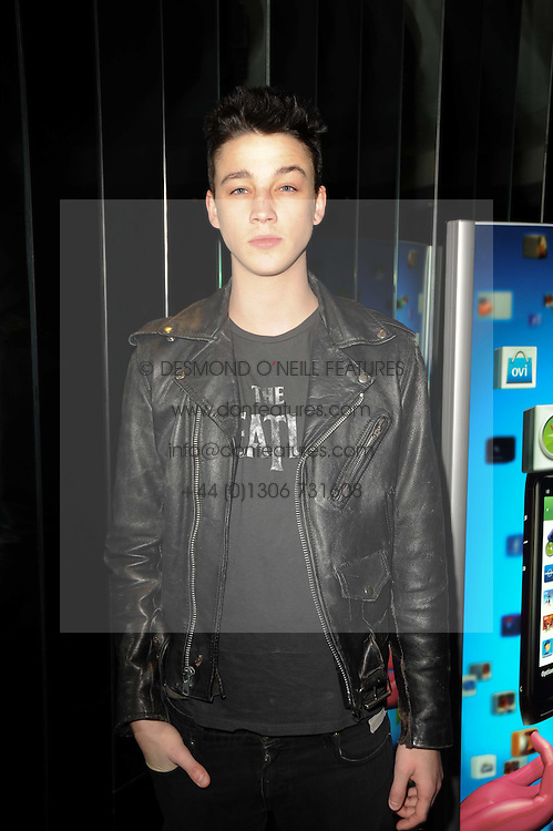 ASH STYMEST at the premiere of Nokia's N8 short film 'The Commuter' held at Aqua, 30 Argyll Street, London on 25th October 2010.