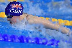 Hannah Miley (GBR) swims in the women's 400m Individual medley  final race at day 4 of LEN European Short Course Swimming Championships Rijeka 2008, on December 14, 2008,  in Kantrida pool, Rijeka, Croatia. (Photo by Vid Ponikvar / Sportida)