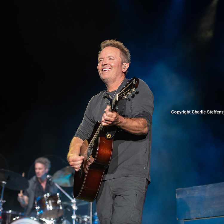 Chris Tomlin at FishFest 2021 at Five Point Amphitheater in Irvine, California