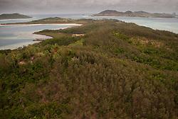 Turtle Island (Aerial), Yasawa Islands, Fiji
