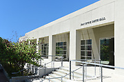 The Joan Irvine Smith Hall on the Campus of the University of California Irvine
