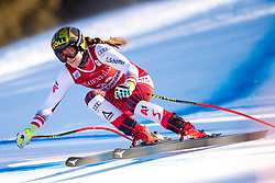 18.12.2018, Saslong, St. Christina, ITA, FIS Weltcup Ski Alpin, Abfahrt, Damen, im Bild Christina Ager (AUT) // Christina Ager of Austria in action during her run in the ladie's Downhill of FIS ski alpine world cup at the Saslong in St. Christina, Italy on 2018/12/18. EXPA Pictures © 2018, PhotoCredit: EXPA/ Johann Groder