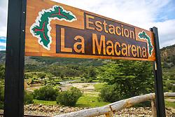 Estação Macarena no passeio turístico no Trem do Fim do Mundo - Ushuaia,  Patagônia. FOTO: Jefferson Bernardes/ Agência Preview