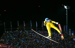 29.12.2015, Schattenbergschanze, Oberstdorf, GER, FIS Weltcup Ski Sprung, Vierschanzentournee, Bewerb, im Bild Ilmir Hazetdinov (RUS) // Ilmir Hazetdinov of Russian Federation during his Competition Jump of Four Hills Tournament of FIS Ski Jumping World Cup at the Schattenbergschanze, Oberstdorf, Germany on 2015/12/29. EXPA Pictures © 2016, PhotoCredit: EXPA/ Peter Rinderer
