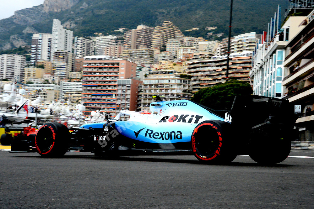 George Russell (Williams-Mercedes) during practice before the 2019 Monaco Grand Prix. Photo: Grand Prix Photo