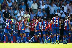 Goal, Dwight Gayle of Crystal Palace scores, Crystal Palace 1-0 Aston Villa - Mandatory byline: Jason Brown/JMP - 07966386802 - 22/08/2015 - FOOTBALL - London - Selhurst Park - Crystal Palace v Aston Villa - Barclays Premier League