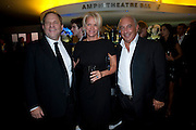 HARVEY WEINSTEIN; ELIZABETH MURDOCH; PHILIP GREEN,  The 2009 GQ Men Of The Year Awards at The Royal Opera House. Covent Garden.  8 September 2009.