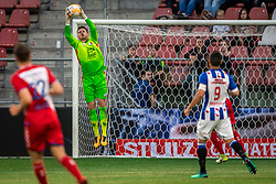 12-05-2018 NED: FC Utrecht - Heerenveen, Utrecht<br /> FC Utrecht win second match play off with 2-1 against Heerenveen and goes to the final play off / David Jensen #1 of FC Utrecht
