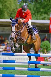 , Warendorf - Bundeschampionate 29.08. - 02.09.2001, Pikatschu - Grom, Richard