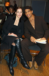 Ballerina DARCEY BUSSELL and Dancer CARLOS ACOSTA at The Critic's Circle National Dance Awards 2005 held at The Royal Opera House, Covent Garden on 19th January 2006.<br /><br />NON EXCLUSIVE - WORLD RIGHTS