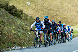 16-09-2017 FRA: BvdGF Tour du Mont Blanc day 7, Beaufort<br /> De laatste etappe waar we starten eindigen we ook weer na een prachtige route langs de Mt. Blanc / Team Blue