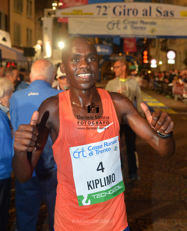 Trento Running Festival - October the 6th, 2018 -  Trento, Italy. Victory for Olympian Jacob Kiplimo - <br /> Giro al Sas © DANIELEMOSNA.IT