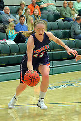 06 December 2017:  Jordan Myroth during an NCAA women's basketball game between the Wheaton Thunder and the Illinois Wesleyan Titans in Shirk Center, Bloomington IL