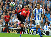 Football - 2018 / 2019 Premier League - Brighton & Hove Albion vs. Manchester United<br /> <br /> Jesse Lingard of Man Utd, at The Amex.<br /> <br /> COLORSPORT/ANDREW COWIE