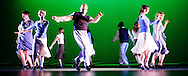 Mark Yonally, artistic director, dances in Tidings of Tap for Chicago Tap Theatre at The Beverly Theater in Chicago.