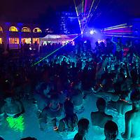 Cinetrip night bath party in Budapest, Hungary on August 05, 2012. ATTILA VOLGYI