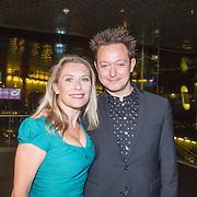 NLD/Amsterdam/20151124 - Premiere Hallo Bungalow, Elle van Rijn en Rop Verheijen