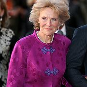 NLD/Amsterdam/20080201 - Verjaardagsfeest Koninging Beatrix en prinses Margriet, aankomst prinses Irene van Lippe Biesterfeld