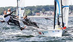 , Kiel - Kieler Woche 17. - 25.06.2017, 49er FX - AUT 61 - Tanja FRANK - Lorena ABICHT - UYC NEUSIEDLERSEE