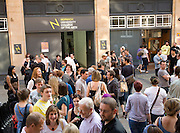 Graduation final show event, University College of the Arts, Norwich, England