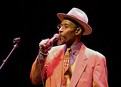 Linton Kwesi Johnson <br /> performs live in London, Great Britain <br /> 9th March 2008 <br /> <br /> Photograph by Elliott Franks