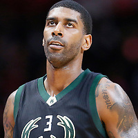 16 December 2015: Milwaukee Bucks guard O.J. Mayo (3) is seen during the Los Angeles Clippers 103-90 victory over the Milwaukee Bucks, at the Staples Center, Los Angeles, California, USA.