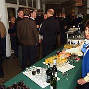 Nieuwjaarsreceptie gemeente Huizen 2002, catering
