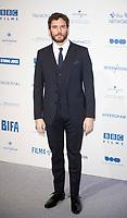Sam Claflin at the 22nd British Independent Film Awards, Roaming Arrivals, Old Billingsgate, London, UK - 01 Dec 2019
