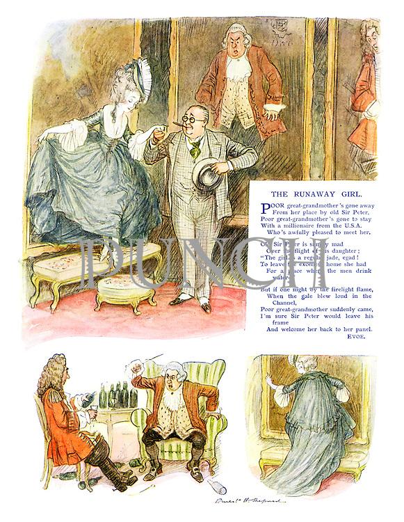 The Runaway Girl (illustrated poem)
