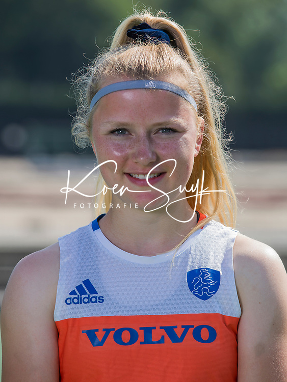 UTRECHT - Gabrielle Mosch . Nederlands Jong Oranje dames voor EK in Valencia. COPYRIGHT KOEN SUYK