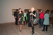 Goga Ashkenazi; Michaela de Pury, Gauguin, Tate Modern. London. 28 September 2010. -DO NOT ARCHIVE-© Copyright Photograph by Dafydd Jones. 248 Clapham Rd. London SW9 0PZ. Tel 0207 820 0771. www.dafjones.com.