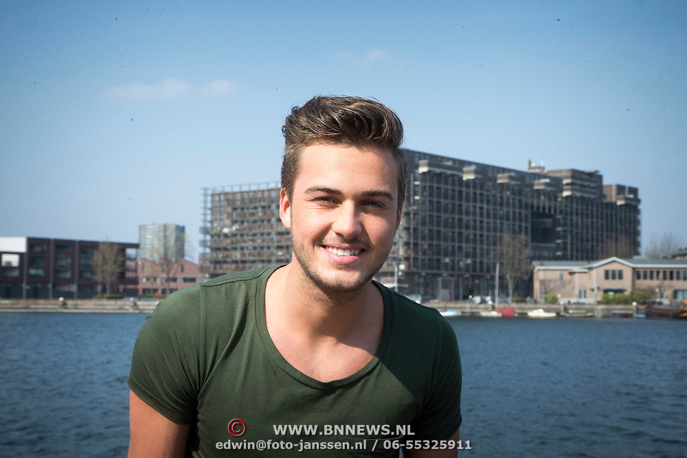 NLD/Amsterdam//20140327 - Perspresentatie Sterren Springen 2014, Dave Roelvink