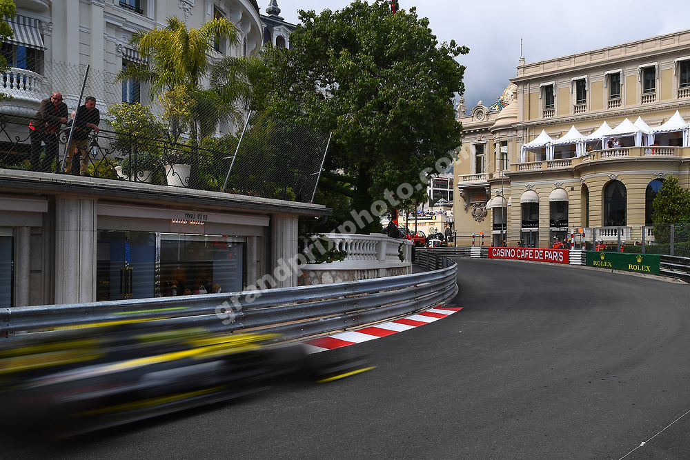 Nico Hülkenberg (Renault) during practice before the 2019 Monaco Grand Prix. Photo: Grand Prix Photo