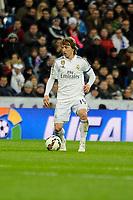 Real Madrid´s Luka Modric during 2014-15 La Liga match between Real Madrid and Levante UD at Santiago Bernabeu stadium in Madrid, Spain. March 15, 2015. (ALTERPHOTOS/Luis Fernandez)