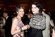TAMSIN GREIG; MICHELLE HICKS, Post Olivier Awards Gala party. Waldorf Astoria. London. 13 March 2011. -DO NOT ARCHIVE-© Copyright Photograph by Dafydd Jones. 248 Clapham Rd. London SW9 0PZ. Tel 0207 820 0771. www.dafjones.com.
