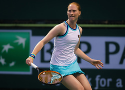 March 9, 2019 - Indian Wells, USA - Alison Van Uytvanck of Belgium in action during her second-round match at the 2019 BNP Paribas Open WTA Premier Mandatory tennis tournament (Credit Image: © AFP7 via ZUMA Wire)