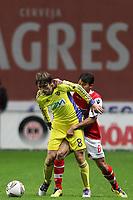 20111103 Braga: SC Braga vs. NK Maribor, UEFA Europa League, Group H, 4th round. In picture: Mezga and Mossoro. Photo: Pedro Benavente/Cityfiles