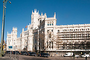 Palacio de Cibeles, City Hall, Madrid, Spain