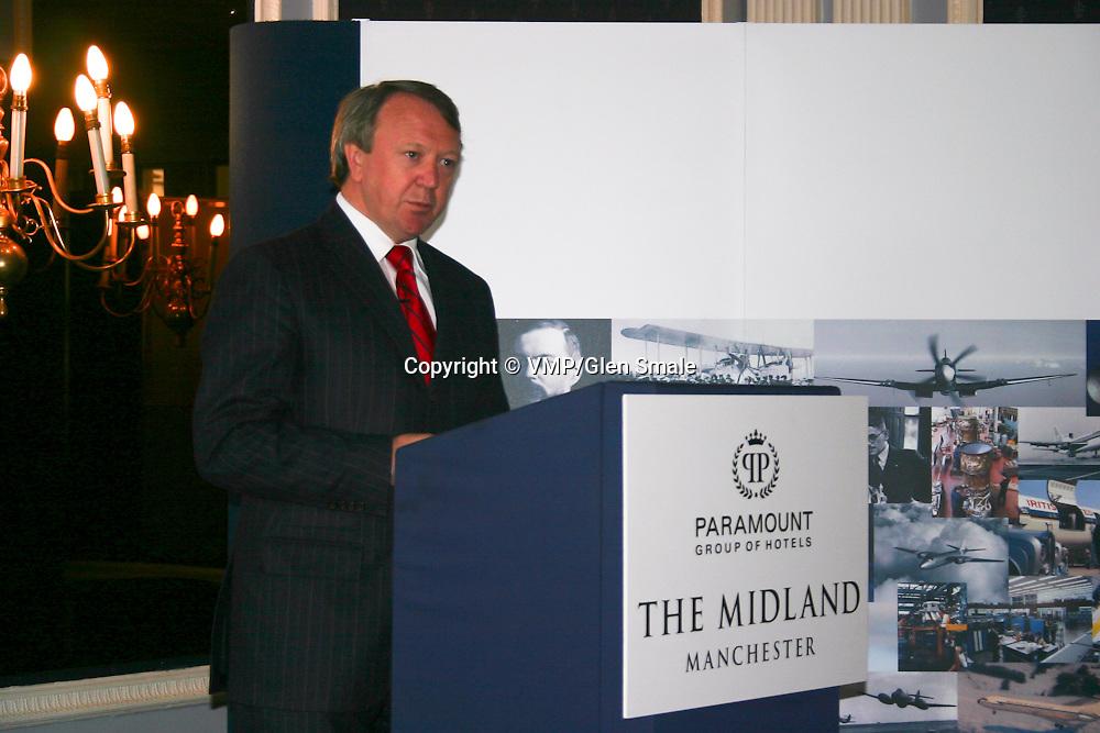 Tony Gott, Rolls-Royce Chairman + Chief Executive, Rolls-Royce Centenary, The Midland Hotel Manchester 2004
