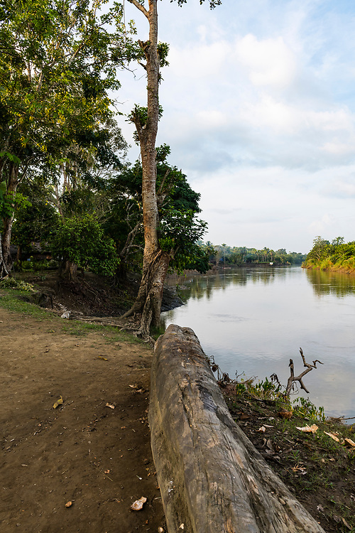 The Keram River in the village of Yar, located in East Sepik Province, Papua New Guinea.<br /><br />(June 21, 2019)