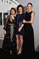 Rachel Tunnard, Myanna Buring and Laura Haddock bei den British Independent Film Awards in London / 041216<br /> <br /> <br /> *** at the British Independent Film Awards in London on December 4th, 2016 ***