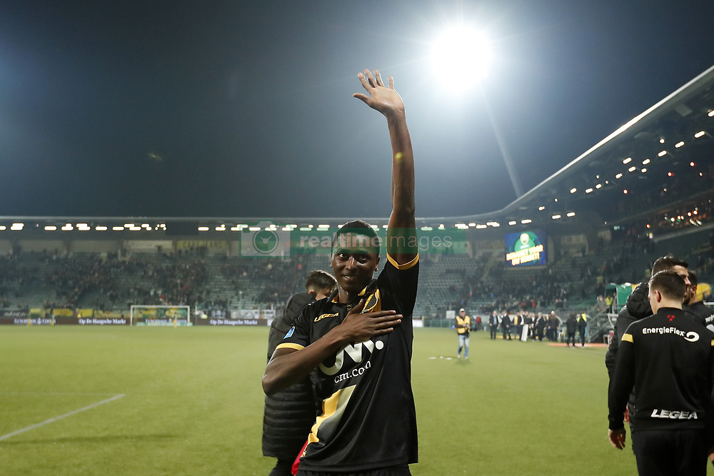 Sadiq Umar of NAC Breda during the Dutch Eredivisie match between ADO Den Haag and NAC Breda at Cars Jeans stadium on March 10, 2018 in The Hague, The Netherlands