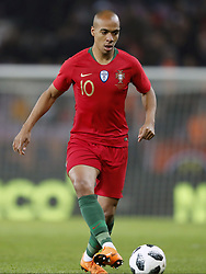 Joao Mario of Portugal during the International friendly match match between Portugal and The Netherlands at Stade de Genève on March 26, 2018 in Geneva, Switzerland