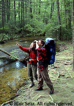 Outdoor recreation, Hiking, Camping, Appalachian Trail, Pine Grove Furnace State Park, Cumberland Co.. PA